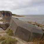 Mächtiger Bunker am Skranbjerg