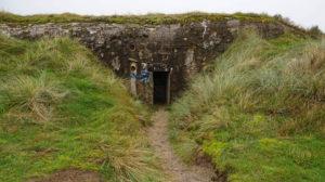 Bunker in den Dünen von Fanø Bad.