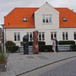 Das Gebäude der alten Nautiker-Schule in Nordby auf Fanø.