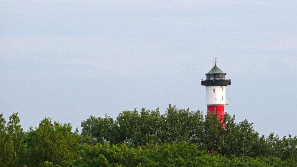 Der alte Leuchtturm wacht über Wangerooge