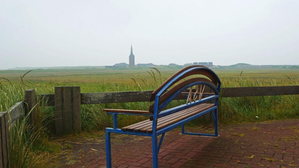 Blick über den Westen von Wangerooge