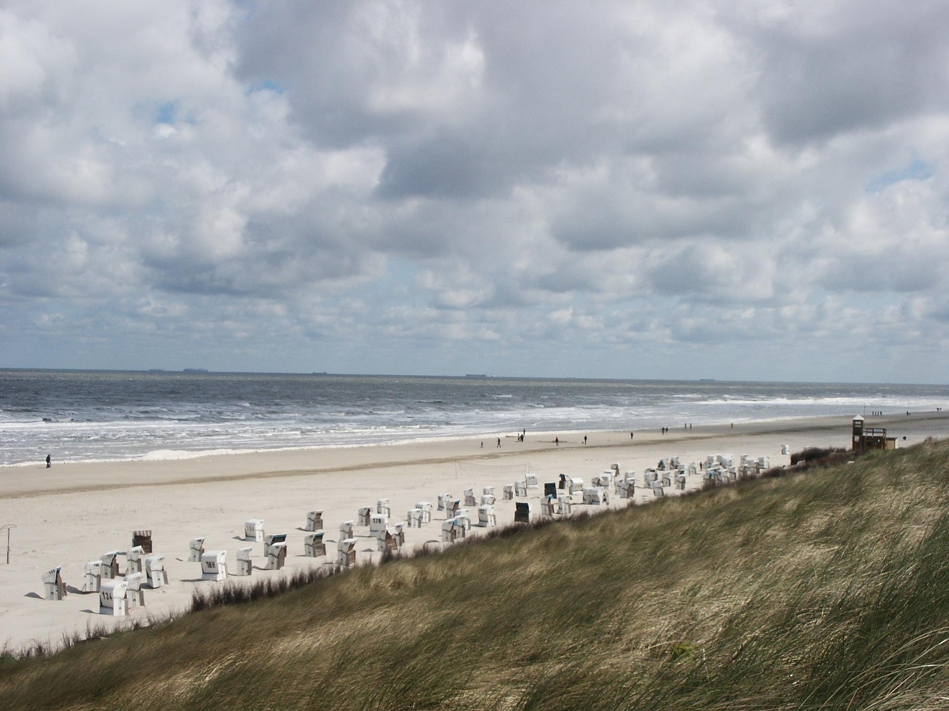 Der Strand von Spiekeroog
